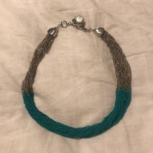 Jessica Simpson Metal Mesh Necklace
